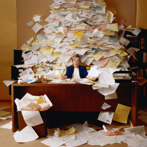 paperwork can pile up
